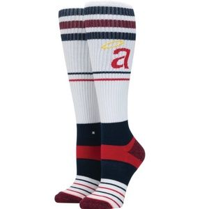 Womens booth length Angel's socks